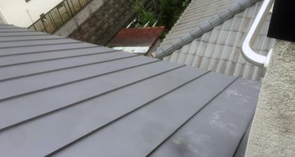 6寸勾配の屋根